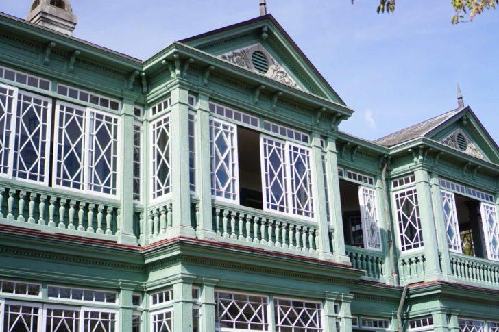 【旧ハンター住宅】映画「鋼の錬金術」でも使用された国指定重要文化財