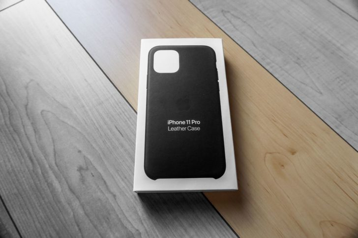 経年変化を楽しみたい。初めてのiPhone純正レザーケース